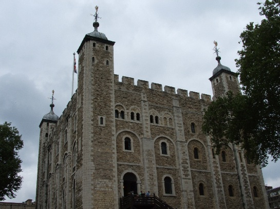 The Tower of London, holding the Crown Jewels, London, England