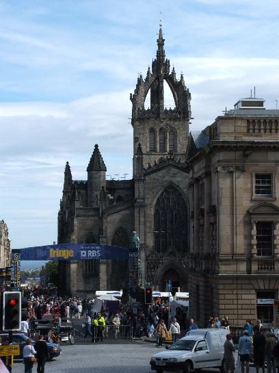 Fringe Festival, Edinburgh, Scotland