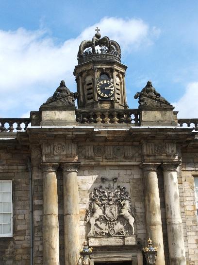 Hollyrookhouse Palace, Edinburgh, Scotland