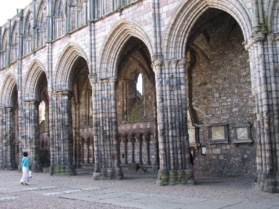Chapel at Hollyrookhouse Palace, Edinburgh, Scotland