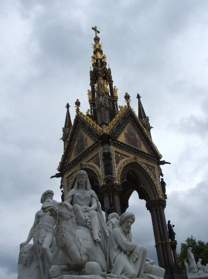 Albert Memorial, Hyde Park, London, England