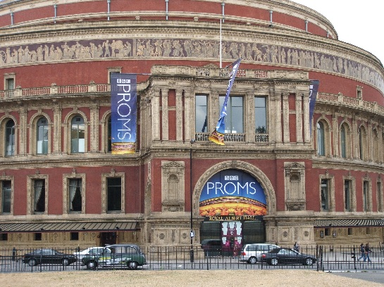 BBC Proms at the Royal Albert Hall, Opposite Hyde Park, London, England