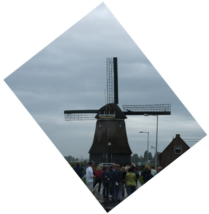 A windmill in the Nederlands