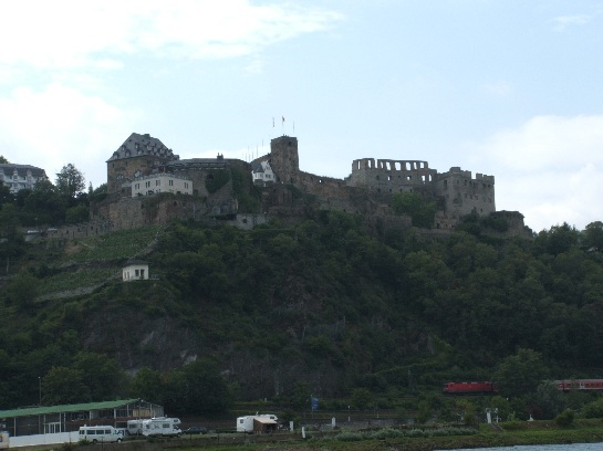 Rhine castle, Germany