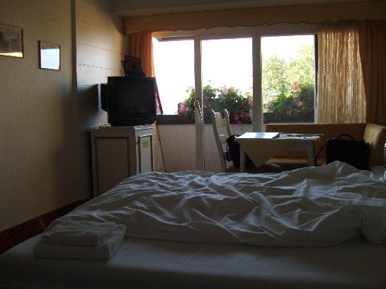 Hotel Room in Wurtburg, Germany