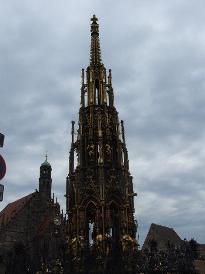 Church Spire in Nuremberg, Germany