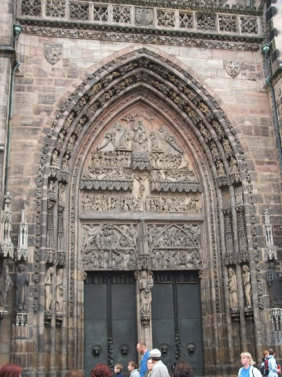 Church in Nuremberg, Germany