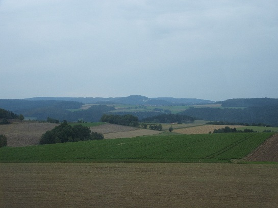 German countryside between Nuremberg and Czech Border, Germany