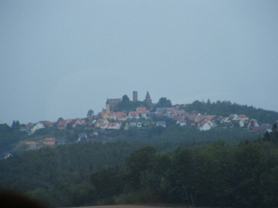 German town between Nuremberg and Czech Border, Germany