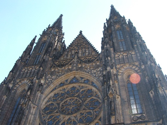 St Vitus Cathedral, Prague Castle, Prague, Czech Republic