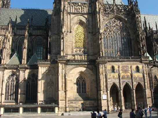 St Vitus Cathedral, Prague Castle, Prague, Czech Republic
