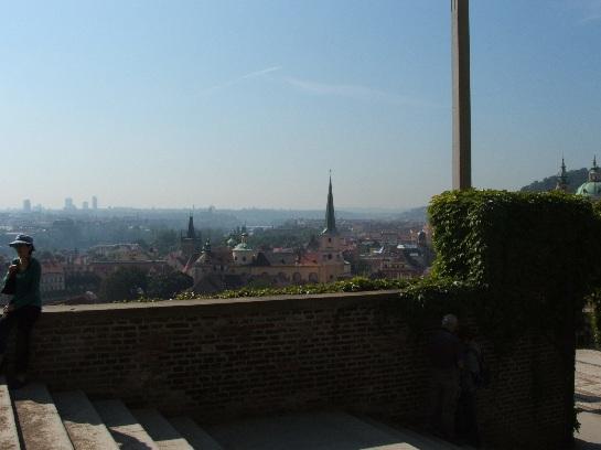 View of Prague from Prague Castle, Prague, Czech Republic