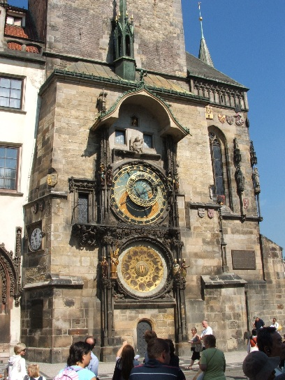 Astronomical Clock in the Old Town Square, Prague, Czech Republic