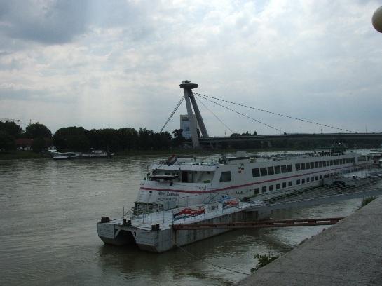 Bridge over the Danube, Bratislava, Slovakia