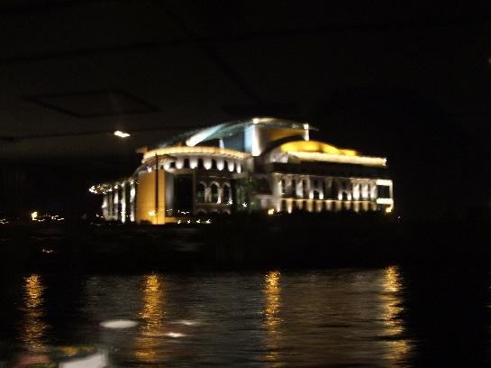 River Cruise at Night, Budapest, Hungary