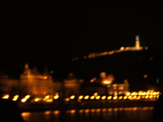 River Cruise at Night, Budapest, Hungary