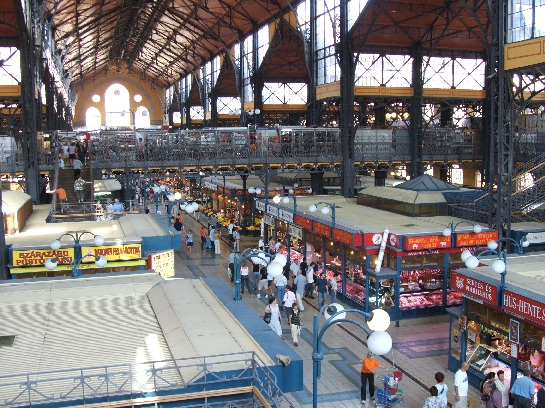 Inside the Markets, Budapest, Hungary