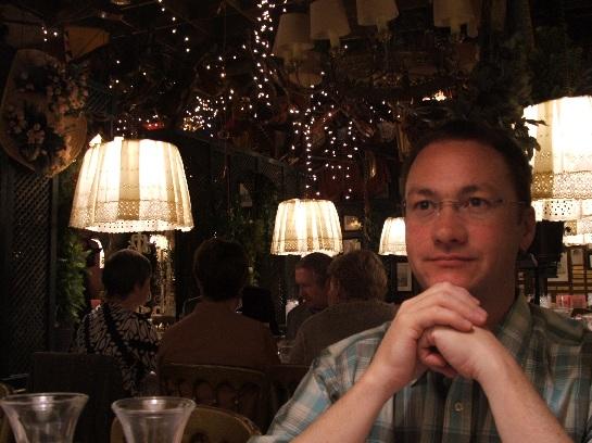 Ross at Austrian Highlight Dinner at Marchfelderhof, Vienna, Austria