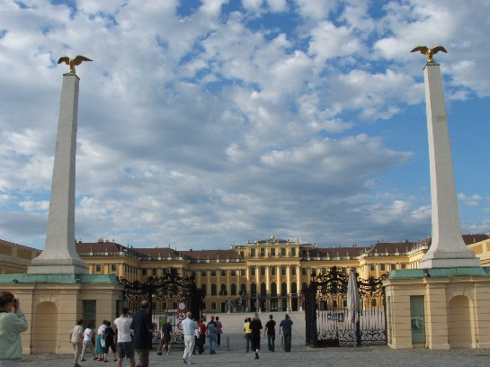Schonbrunn Palace, Seat of the Hapsburg Dynasty, Vienna, Austria