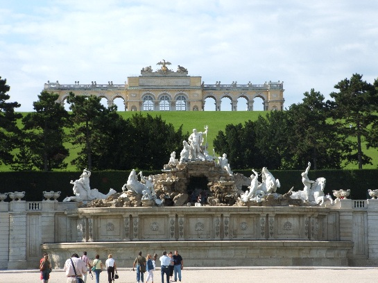 Schonbrunn Palace, Seat of the Hapsburg Dynasty, Vienna, Austria
