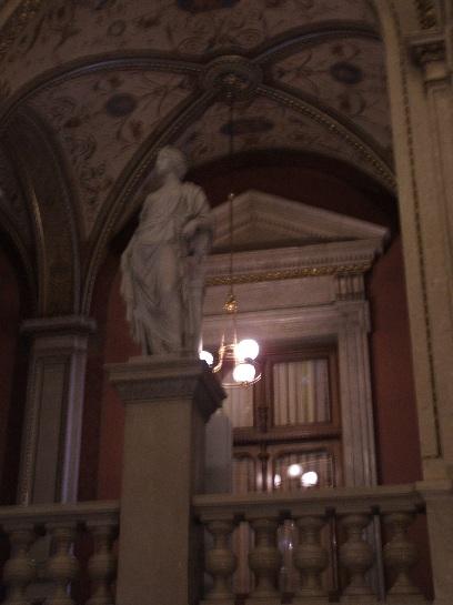 Inside the Opera House, Vienna, Austria