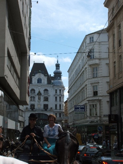 Horse and Carriage Ride in Vienna, Austria