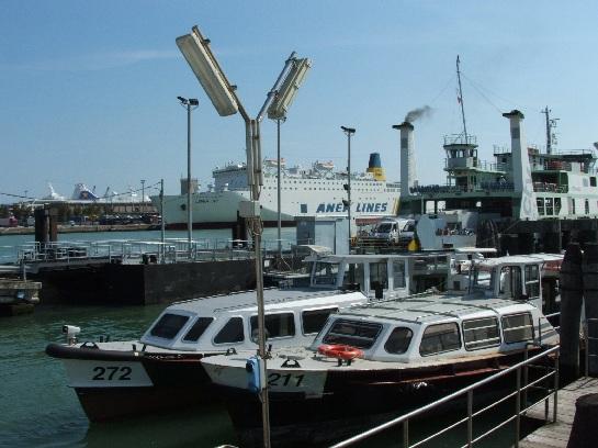 Port near Venice, Italy