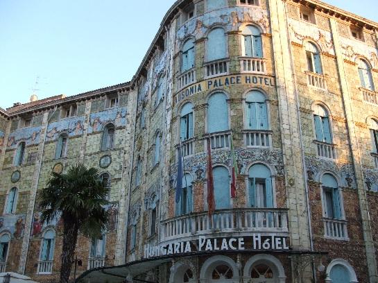 Hungaria Palace Hotel, Venice, Italy