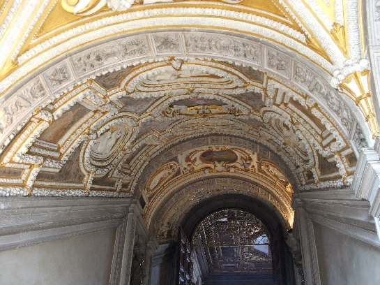 Inside the Doge's Palace, Venice, Italy