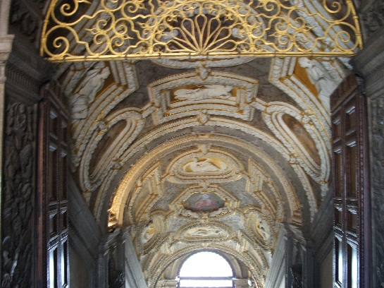 Inside the Doge's Palace, Venice, Italy