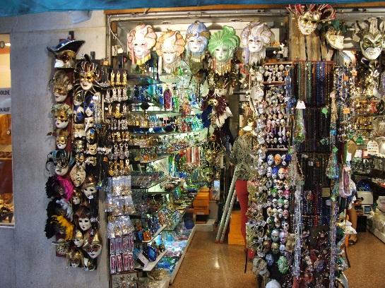 Glassware shop, Venice, Italy