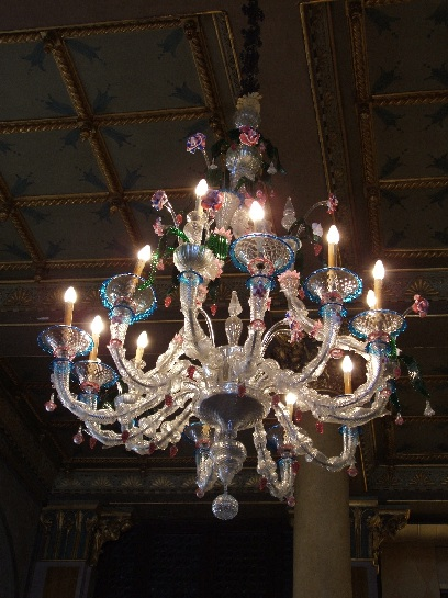 Glass Chandelier, Venice, Italy