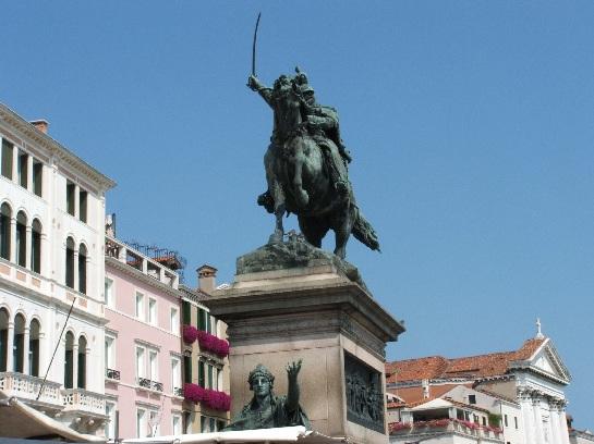 Statue, Venice, Italy