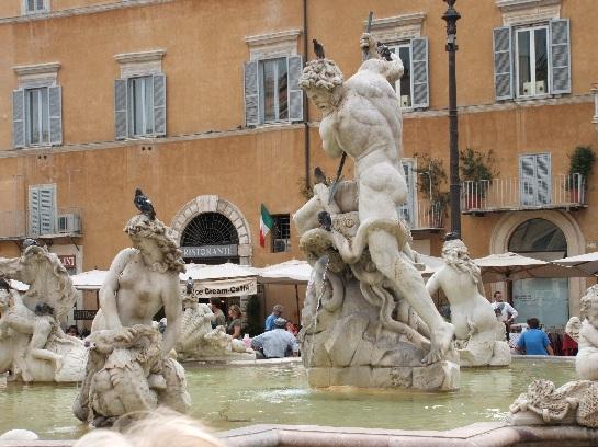 Fountain, Rome, Italy