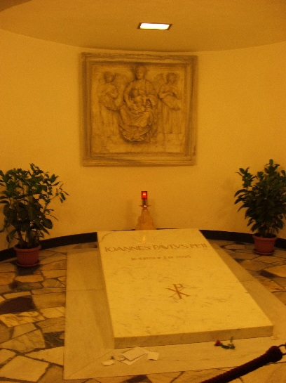 Tomb of Pope John Paul II, Inside the Vatican, Vatican City