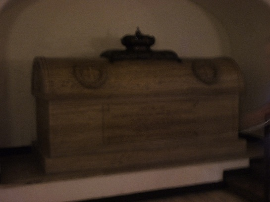 Tomb of Bonny Prince Charles, Inside the Vatican, Vatican City