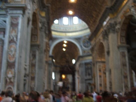 Inside Saint Peter's Basilica, Vatican, Vatican City