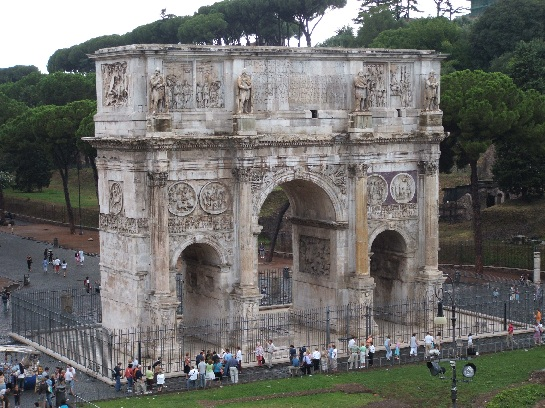 Roman Victory Arch, Rome, Italy