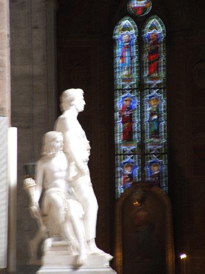 Statue of Di Leon Batista Alberti, Florence, Italy