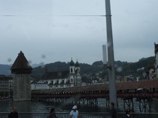 Chapel Bridge, Lake Lucerne, Lucerne, Switzerland
