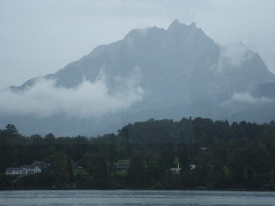 Mount Pilatus from Lake Lucerne Cruise, Lucerne, Switzerland