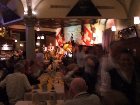 Highlight Dinner, Lucerne, Switzerland