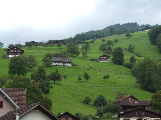 Swiss countryside, Switzerland