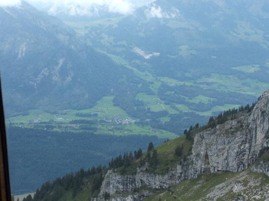 View from Mount Pilatus, Lucerne, Switzerland