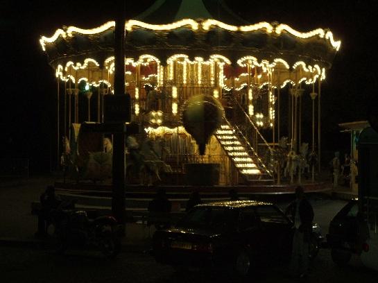 Merry-go-round, Paris, France