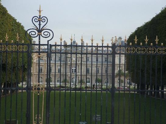Gardens in Paris, France