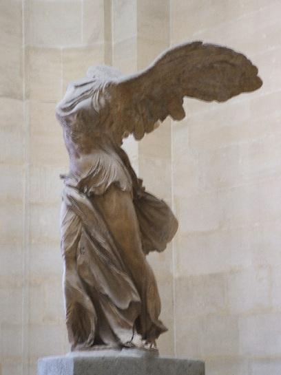 Inside the Louvre, Paris France