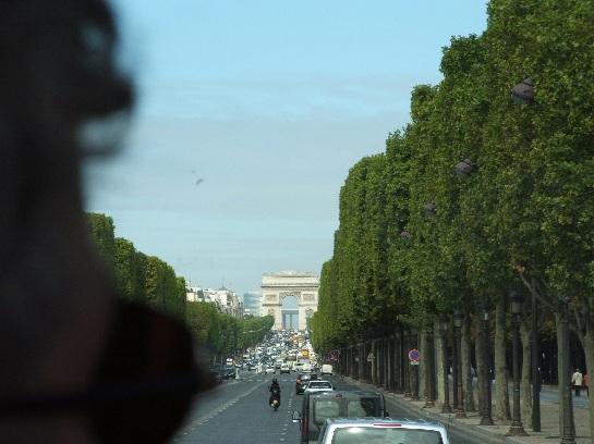 The Arc de Triomphe, Paris, France