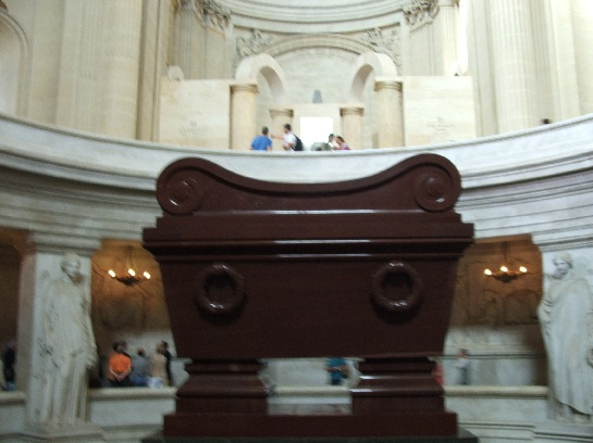 Inside Napoleon's Tomb, Paris, France
