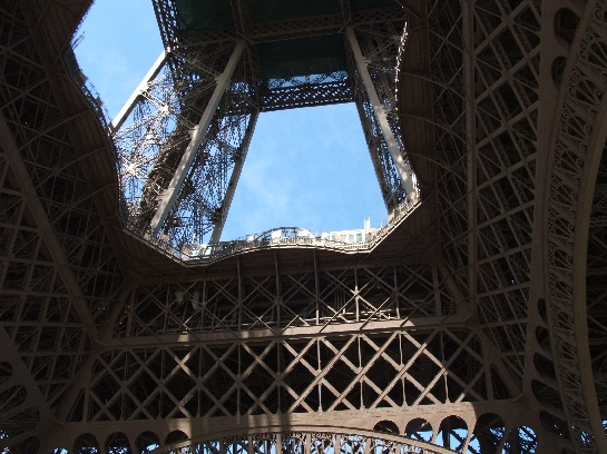 Base of the Eiffel Tower, Paris, France